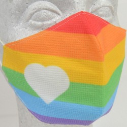 Reusable Face Mask: Rainbow